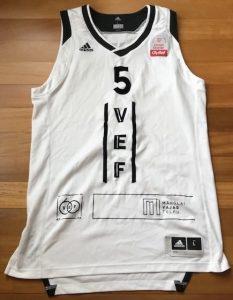 VEF Riga 2018 -19 away jersey
