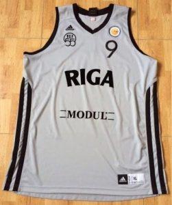 VEF Riga 2013 -14 grey jersey 55th anniversary