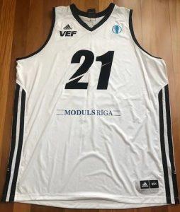 VEF Riga 2012 -13 away jersey