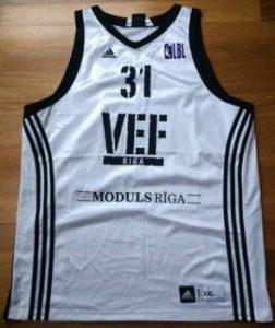 VEF Riga 2009 -10 away jersey