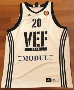 VEF Riga 2010 -11 away jersey