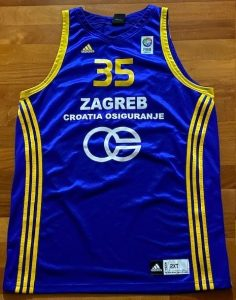 KK Zagreb 2010 -11 away jersey