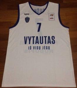 Vytautas Prienai 2015 -16 away jersey