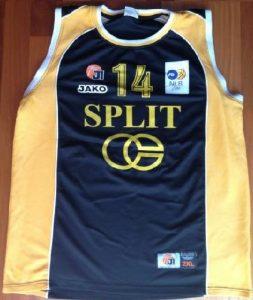 KK Split 2008 -09 away jersey