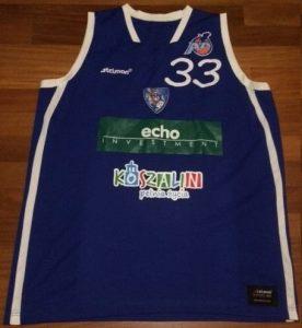 AZS Koszalin 2014 -15 away jersey
