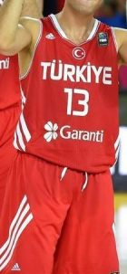 Turkey 2013 -14 Home jersey FIBA World Cup 2014
