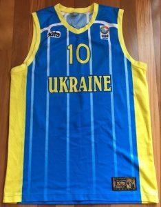 Ukraine 2009 -10 blue jersey