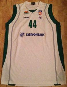 UNICS Kazan 2011 -12 Home jersey