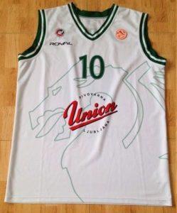 Union Olimpija Ljubljana 2011 -12 Home jersey