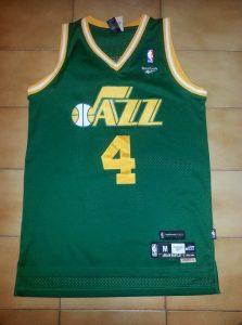 Utah Jazz 1980 -81 alternate jersey