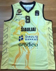 Šiauliai 2018 -19 Home kit