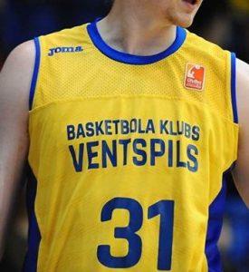 BK Ventspils 2017 -18 Home kit
