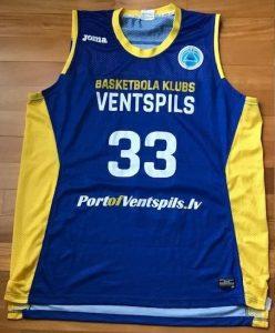 Ventspils 2017 -18 away jersey