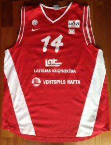 Ventspils 2006 -07 away jersey