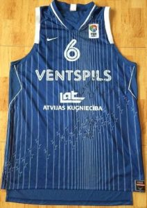 Ventspils 2008 -09 away jersey