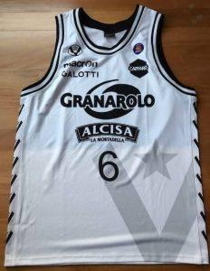 Virtus Bologna 2013 -14 Home jersey