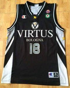 Virtus Bologna 2003 -04 away jersey