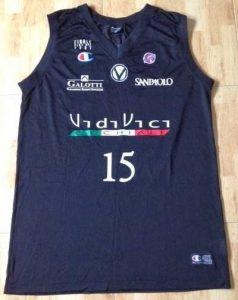 Virtus Bologna 2005 -06 away jersey