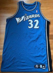 Washington Wizards 2006 -07 road jersey
