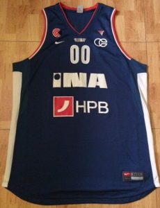 Cibona Zagreb 2011 -12 away jersey