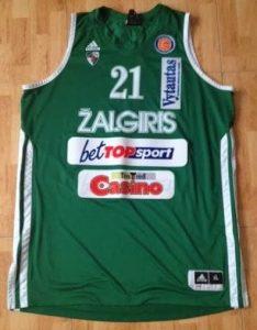 Žalgiris Kaunas 2012 -13 Home kit