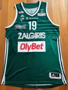 Žalgiris Kaunas 2015 -16 Home kit