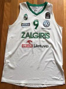 Žalgiris Kaunas 2017 -18 away jersey