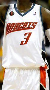 Charlotte bobcats 2008 -09 Home jersey