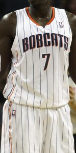 Charlotte bobcats 2011 -12 Home jersey