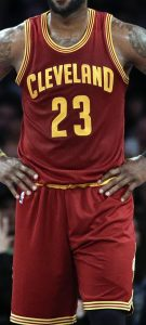 Cleveland Cavaliers 2014 -15 road kit