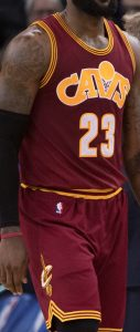 Cleveland Cavaliers 2015 -16 cavfanatic throwback jersey