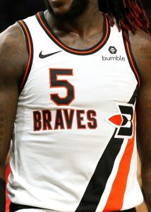 Los Angeles Clippers 2019 -20 Buffalo braves throwback jersey