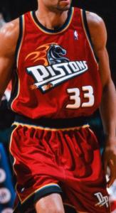 Detroit Pistons 1999 – 2000 alternate