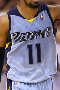 Memphis Grizzlies 2013 -14 alternate jersey
