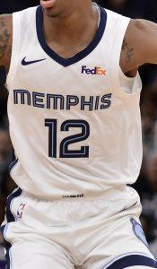 Memphis Grizzlies 2019 -20 association jersey