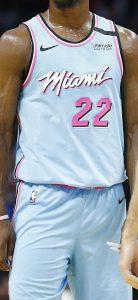 Miami Heat 2019 -20 vice waves city edition jersey