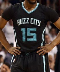 Charlotte Hornets 2016 -17 city jersey