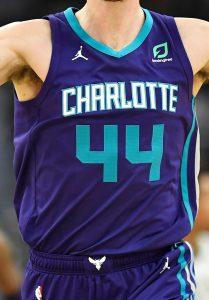 Charlotte Hornets 2018 -19 statement jersey