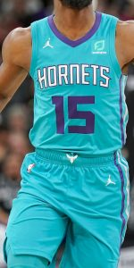 Charlotte Hornets 2018 -19 icon jersey