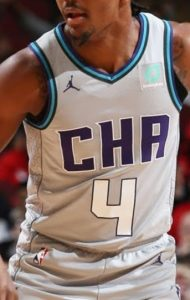 Charlotte Hornets 2019 -20 city jersey