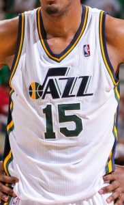 Utah Jazz 2014 -15 Home jersey