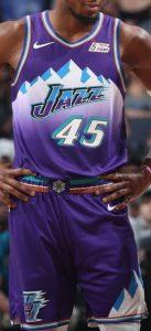 Utah Jazz 2019 -20 throwback 90s classic jersey