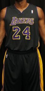Los Angeles Lakers 2013 -14 Hollywood nights jersey