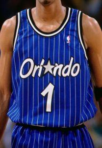Orlando Magic 1994 -95 alternate jersey