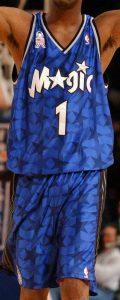 Orlando Magic 2001 -02 road jersey