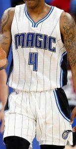 Orlando Magic 2016 -17 Home kit
