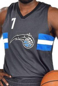Orlando Magic 2016 -17  stars jersey
