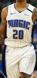 Orlando Magic 2019 -20 association jersey