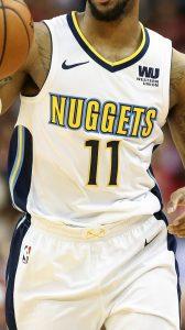 Denver Nuggets 2017 -18 association jersey