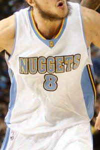 Denver Nuggets 2014 -15 Home kit